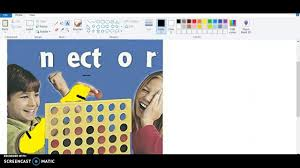 How To Make A Meme In Paint - making a stupid connect four meme youtube