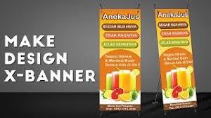 cara membuat desain x banner di photoshop cara desain x banner wedding dengan photoshop clip fail