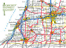 Midland Michigan Map by Driving Map Of Michigan Michigan Map