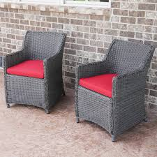 charleston way 5 piece outdoor wicker patio sofa set with table