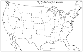 blank us map great lakes blank map of the united states