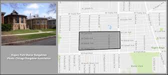 rogers park manor bungalow historic district homes for sale
