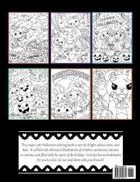 kawaii halloween a super cute holiday coloring book kawaii