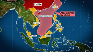 Map Of South China Sea by Us Destroyer Sails Close To Disputed Island In The South China Sea