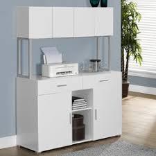 monarch specialties inc credenza desk with hutch u0026 reviews wayfair