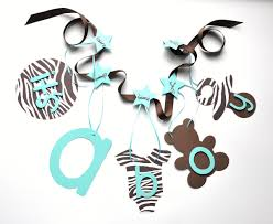 brown and blue baby shower decorations best baby decoration
