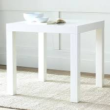 west elm white table white square dining table parsons dining table square west elm