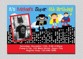 superhero birthday invitation superhero birthday party