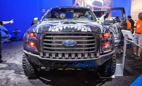 ford baja truck 2015 ford f 150 invades sema u2014and you can see them all here