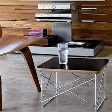 eames wire side table mlf wire base low table