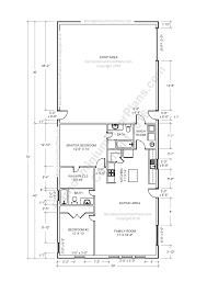 Master Bedroom Floor Plan by Barndominium Floor Plans Pole Barn House Plans And Metal Barn