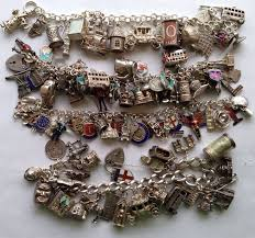 vintage silver bracelet charms images 214 best england uk english vintage charms bracelets images jpg