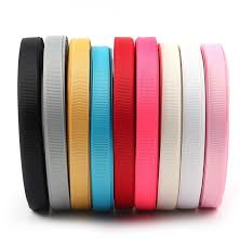 gross grain ribbon 10mm 25 yards solid grosgrain ribbon roll diy gift packaging bow