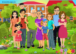 pages happy big family