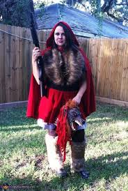 Halloween Hunter Costume 8 Red Riding Hood Motorcycle Gang Images