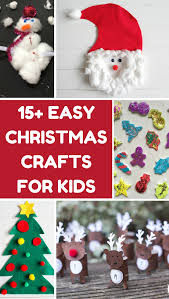 15 easy christmas crafts for kids homemade