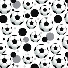 premium gift wrap wrapping paper roll pattern soccer football