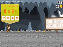 cave run multiplication free online math game multiplication com