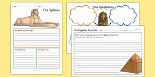 ancient egyptian mind maps and worksheets ancient egypt