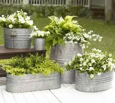 best 25 galvanized planters ideas on pinterest galvanized water