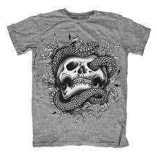 snake skull tattoo t shirt clip art tshirt factory