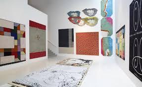 Rug Art The Carpet Kartell U0027s Inaugural Exhibtion Wallpaper
