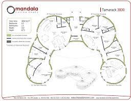 Yurt Floor Plan by Tamarack Series Floor Plans Mandala Homes Prefab Round Homes