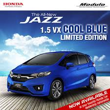 honda mobilio philippines honda jazz cool blue limited edition launched in philippines