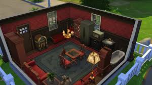 Animal Crossing Home Design Games I Made A Gamecube Style Animal Crossing House In The Sims 4 Then
