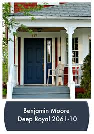 Trending Home Decor This Classic Navy Blue Front Door U2013 Currently Trending As A