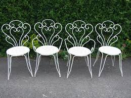 Outdoor Furniture Iron by French Ornate Pink Wrought Iron Metal Garden Table And Chairs