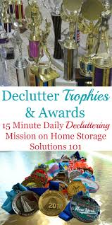 how to declutter old trophies medals u0026 awards including how to
