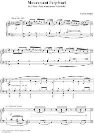 wedding dress chords piano mouvement perpétuel no 3 from trois mouvements perpétuels