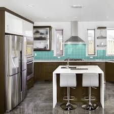 the home depot kitchen design jeffrey court tiffany may 3 in x 6 in glass wall tile 8 piece