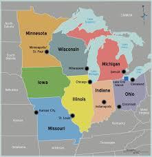 Iowa Usa Map by Maps Maps Of Usa