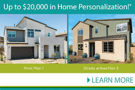 pivot new homes in gated neighborhood green valley henderson