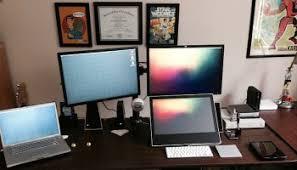 Desk Setup Mac Setups Programmers Desk