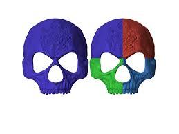 mask masquerade mandala mask skull mask masquerade mask stl 3d model 3d
