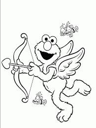 elmo valentines elmo valentines day coloring pages new elmo valentines day