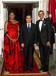 obama s best state dinner dresses photos