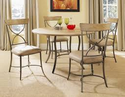 furniture home hillsdale charleston wood and metal dining table