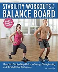 jll wooden balance board anti slip surface exercise fitness
