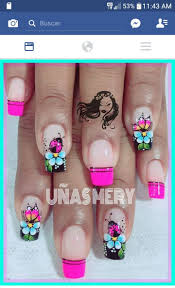 free hand nail art toturial fantasy butterflies