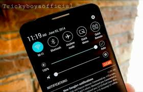 customize android how to customize notification bar in android phone tricky boys
