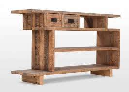 Pine Console Table Two Drawer Pine Console Table Polygon Ez Living Furniture