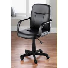 hodedah pu leather mid back office chair hi 1011 home
