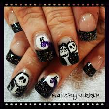 jack and sally nails nails by nikki p pinterest sally and