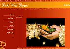 Wedding Planning Websites Free Designs And Templates Indian Wedding Websites Myshaadi In
