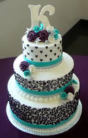 aqua and purple wedding aqua and purple wedding cake cake