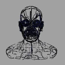render an abstract head using render curves arnold for maya user